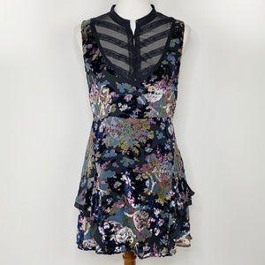 Free People Velvet Mini Dress